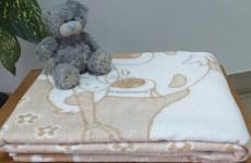 Детские хлопковые байковые одеяла