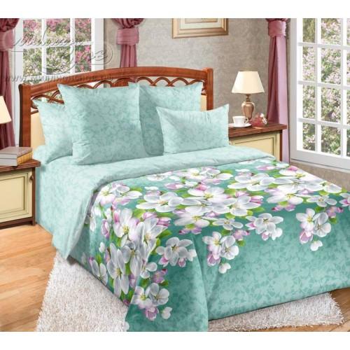 """Комплект постельного белья """"Яблони в цвету1"""" из перкаля"""