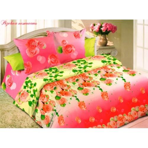 """Комплект постельного белья """"Розовая нежность"""" из поплина"""