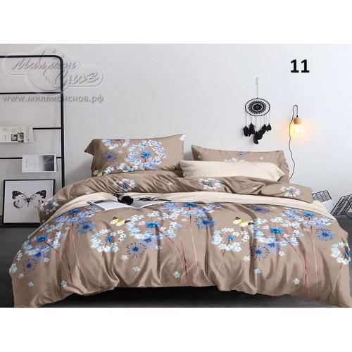 """Комплект постельного белья """"4282А"""" из сатина «Премиум»"""