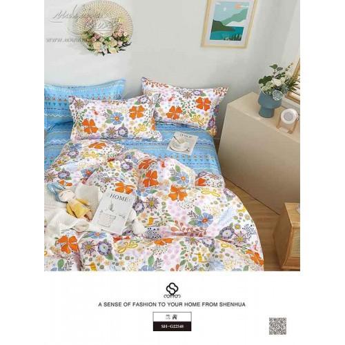"""Комплект постельного белья """"9042"""" из сатина «Премиум»"""