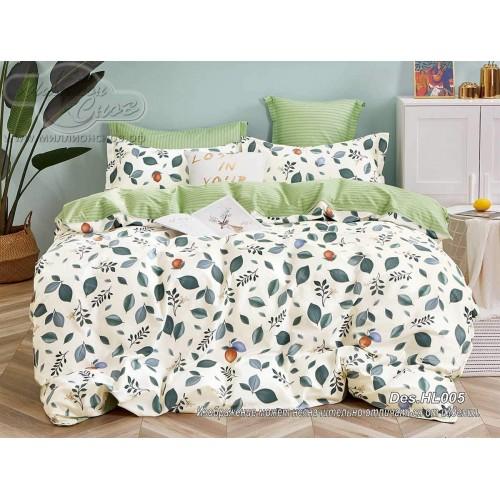 """Комплект постельного белья """"HL005"""" из сатина «Премиум»"""
